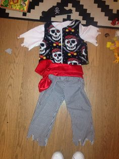Pirate (gilet et pantalon intemporel enfant) tissus fabricland