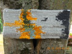 Felted wool wall hanging-Eucalyptus Bark-Beautifully Held PDX