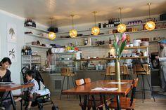 The interior of Mogg & Melzer, a delicatessen in Berlin