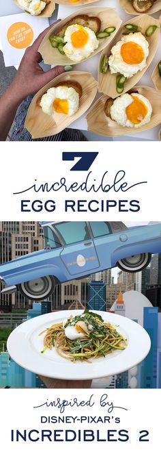 7 Incredible Egg Recipes inspired by Disney-Pixar's Incredibles 2 movie. Each simple egg recipe is inspired by a different super's powers or personality! #DisneyPixar #Incredibles2 #IncredibleEgg #sponsored
