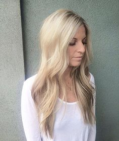 Beautiful long haired blonde :: RedBloom Salon