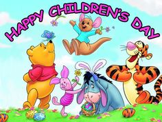 Happy Children's Day celebrated around the world on June 1st since 1950.