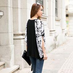 #LooseShirt #Jeans #BrunetteHair