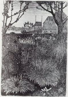 Fall Garden by Jan Mankes