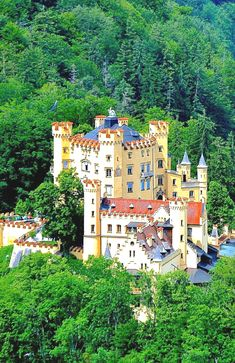 Castle Hohenschwangau, Bavaria, Germany
