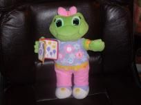 LEAP FROG LEARNING FRIEND LILY GIRL FROG BILINGUAL PLUSH TOY