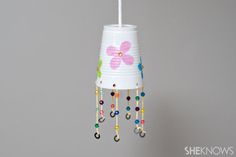 Easy wind chime craft for example of the idea that we cannot see the wind yet we know it's real & its the same with God