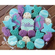 Image result for mermaid cookies