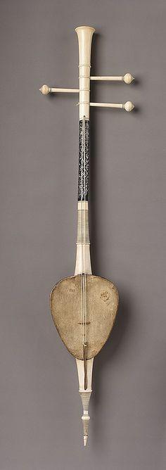 So Sam Sai  Date:     19th century Geography:     Thailand Medium:     Coconut, skin, ivory