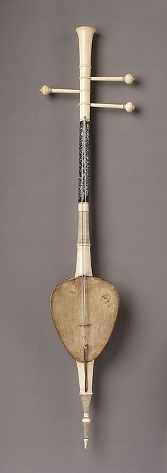 So Sam Sai Date: 19th century Geography: Thailand Medium: Coconut, skin, ivory