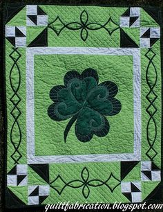 Vote Now and Give-Away: Green Love (St. Patrick's Day) / Quilting Gallery