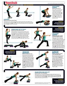 20 Minute Workout Series - Part 2 - Fat Burning Workout Fat Burning Workout Plan, Healthy Ways To Lose Weight Fast, Healthy Weight, Reduce Weight, Workout Plan For Women, Workout Plans, Step Workout, Workout Diet, Workout Challenge