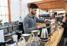 Great Coffee Is Elementary: Harrisburgs coffee culture revs it up at the Broad Street Market.