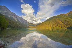 Lago di Anterselva Trentino Alto Adige, Italy