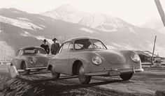 Porsche Cars, Porsche 356, Vintage Porsche, Vintage Cars, Car Car, Cars And Motorcycles, Classic Cars, Automobile, Retro