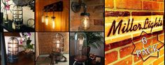Unique Industrial handmade old world modern lighting - by MillerLights