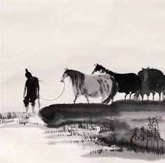 Peng Xiancheng (Simplified Chinese: 彭先诚; Hanyu Pinyin: Péng Xiānchéng) (1941 - ) is a contemporary Chinese artist based in Chengdu, China