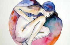 Juxtapoz Magazine - Watercolor Works from Vajda Tamas