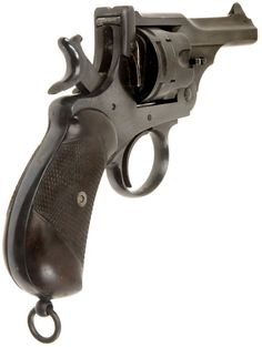 Service pistol used by the officers on board the Titanic. Webley Revolver, Revolver Pistol, Weapons Guns, Guns And Ammo, Arsenal, Lever Action, Military Guns, White Crosses, Self Defense