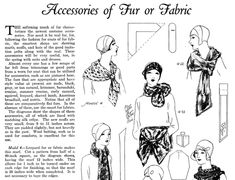 Vintage Sewing Magazine January 1929 Fashion Service Dressmaking Sewing Ebook -INSTANT DOWNLOAD- Perfect for Model A 1920s Research!