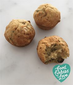 Age: 9 months upwards Suitable for freezing. Cranberry Muffins, Toddler Meals, Baby Food Recipes, Baby Love, Zucchini, Recipies, Frozen, Age, Babies