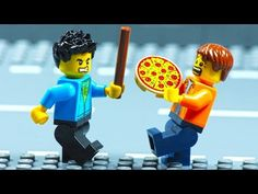 Pizza Delivery, Lego City, Stop Motion, Animation, Funny, Pizza Home Delivery, Funny Parenting, Animation Movies, Hilarious