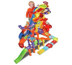 Buy VTech Toot-Toot Drivers Mega Drivers Set | Toy cars, vehicles and sets | Argos
