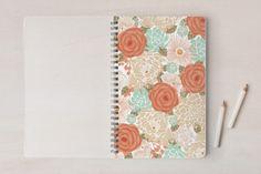 Tropical garden Notebooks by Ana de Sousa at minted.com