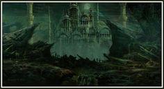MTG MAGIC ROB ALEXANDER DEAD CITY PLAYMAT