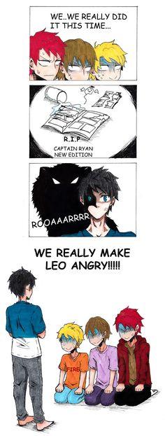 Angry Leo, Scary Leo! by rafika-farhani.deviantart.com on @DeviantArt