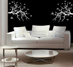 Wall mural is one of the artistic ways to make the living room more appealing for you and for your guest.