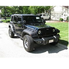 Fab Fours Winch Bumper for Jeep JK 2007-2010 JK07B18511