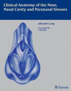 2475 Clinical anatomy of the nose nasal cavity and paranasalsinuses