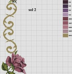 Hand Embroidery, Cross Stitch, Jewellery, Pasta, Cross Stitch Rose, Cross Stitch Embroidery, Table Toppers, Roses, Dots