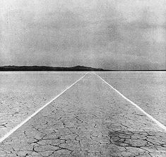Walter De Maria, Mile Long Drawing, 1968