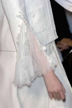 Chanel couture details