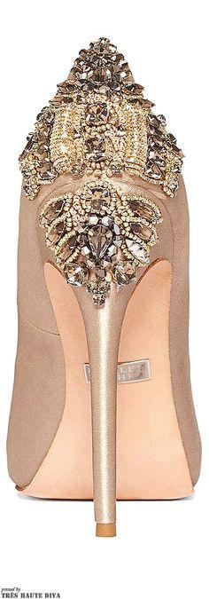Zapatos para bodas atrevidos y únicos. Badgley Mischka zapatos para bodas
