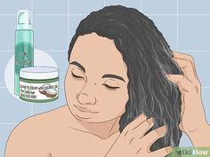 3 Ways to Follow the Curly Girl Method for Curly Hair - wikiHow Make Hair Curly, Curly Hair Tips, How To Make Hair, Wavy Hair, Red Hair, Curly Hair Styles, Natural Hair Styles, Clarifying Shampoo, Sulfate Free Shampoo