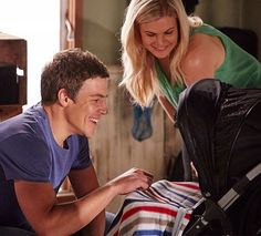 Who left and came back to Summer Bay this year 2016 - BRAX, RICKY AND BABY CASEY: Brax came back to the Bay this year to win Ricky back and he was successful! The newly reunited family sadly said goodbye to Summer Bay.