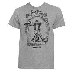 Walking Dead Vitruvian Daryl Dixon T-Shirt, Men's