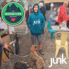 Happy hoodies at The Good Life Experience