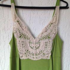 Vestido Verde Crochet - 833151 | enjoei :p