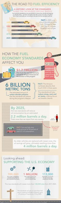 The Road to Fuel Efficiency [INFOGRAPHIC]