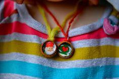 Twig and Toadstool: Acorn Cap Necklaces