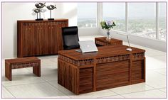 Imported Arc Shaped Administration Office Computer Desk