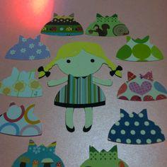 Dress-up paper dolls