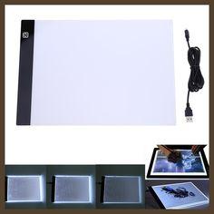 VKTECH Digital Tablet 13.15x9.13inch A4 LED Artist Thin Art Stencil Drawing Board Light Box Tracing Table Pad