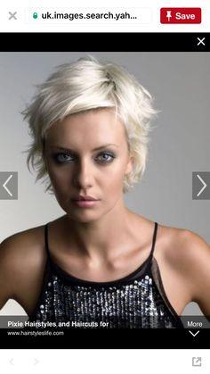Kurzhaarschnitt-Idee: Lisa Shepherd 2003 To-Do-Haaridee? - schöne Kurzhaarschnitt-Idee: Lisa Shepherd 2003 To-Do-Haaridee? Trendy Hairstyles, Bob Hairstyles, Ladies Hairstyles, Funky Haircuts, Pixie Haircuts, Blonde Hairstyles, Messy Pixie Haircut, Female Hairstyles, Gorgeous Hairstyles