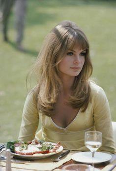 Jean Shrimpton, 1966.