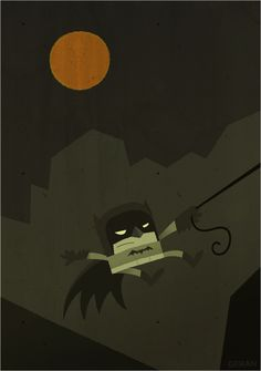 And now, Batman by Chad Geran.